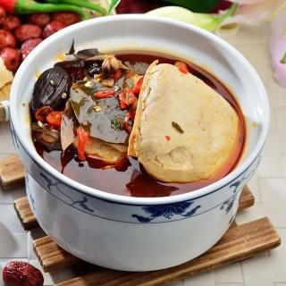 【鮮食家任選799】南門市場老林記素食齋菜招牌麻辣臭豆腐(4入/份)