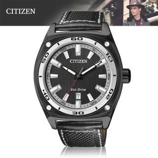 【CITIZEN 星辰】光動能-都會風格紳士錶(AW1050-01E)