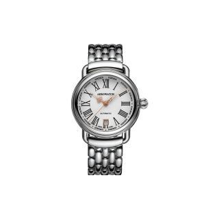【AEROWATCH】古典鏤空指針腕錶-銀(A60900AA13M)
