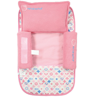 【BabyTiger虎兒寶】三麗鷗 寶寶安撫側睡組-彌月禮盒(安撫 嬰兒枕 hello kitty)