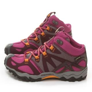 【MERRELL】女款  GORE-TEXR多功能健行運動鞋(ML48340-桃紅)