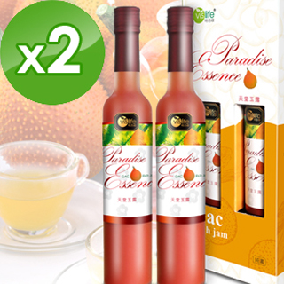 【特活綠】天堂玉露2盒★送微調味八寶堅果5包(500公克x2瓶/盒)