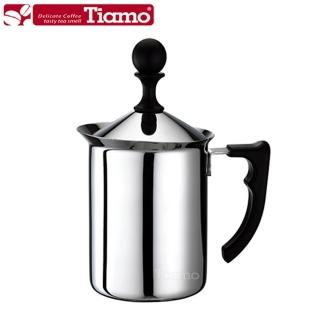 【Tiamo】1116雙層濾網奶泡杯 200ml(HA1612)