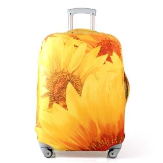 太陽花行李箱防塵亮彩保護套(18-22吋適用)