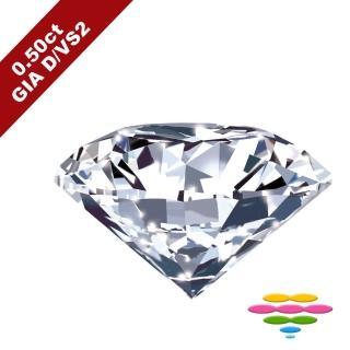 【彩糖鑽工坊】GIA 50分 F/VS2 北極光車工 鑽石鑽戒(R20或R41或R42或R46)
