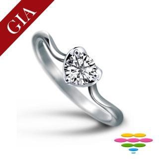 【彩糖鑽工坊】GIA 50分 D/VS2 北極光車工 鑽石鑽戒(R13或R22或R26或R70)