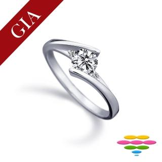 【彩糖鑽工坊】GIA 50分 F/VS2 北極光車工 鑽石鑽戒(R13或R22或R26或R70)