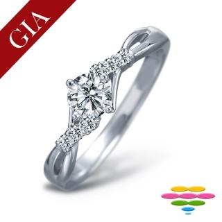 【彩糖鑽工坊】GIA 50分 F/VS2 北極光車工 鑽石鑽戒(R64或R65或R66或R67)