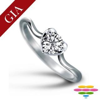 【彩糖鑽工坊】GIA 50分 F/SI2 1EX 鑽石鑽戒(R64或R65或R66或R67)