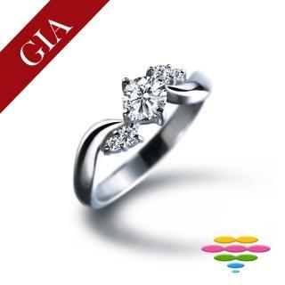 【彩糖鑽工坊】GIA 30分 D/IF 北極光車工 鑽石鑽戒(R13或R22或R26或R70)