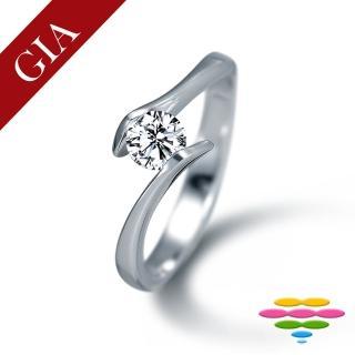【彩糖鑽工坊】GIA 30分 F/VS2 北極光車工 鑽石鑽戒(R20或R41或R42或R46)
