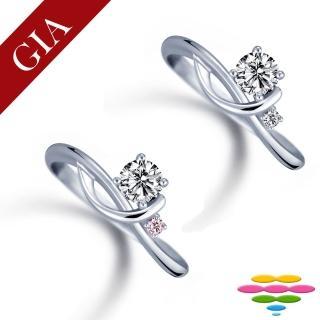 【彩糖鑽工坊】GIA 30分 D/VS2 北極光車工 鑽石鑽戒(R81或R82或R83或R87)