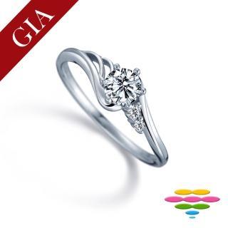 【彩糖鑽工坊】GIA 30分 F/VS2 北極光車工 鑽石鑽戒(R25或R50或R62或R88)