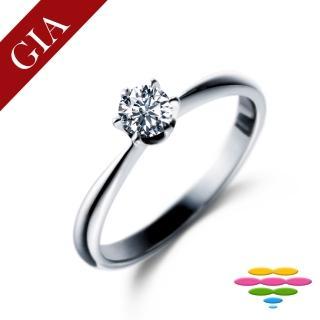【彩糖鑽工坊】GIA 30分 F/SI1 1EX 鑽石鑽戒(R20或R41或R42或R46)