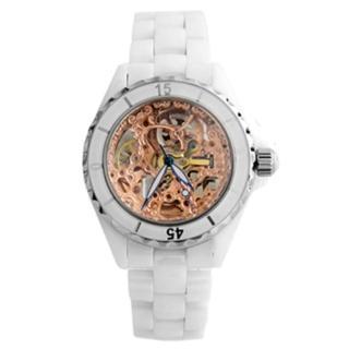 【Valentino范倫鐵諾】高精密全陶瓷自動上鍊機械手錶腕錶