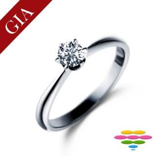 【彩糖鑽工坊】GIA 1克拉 D/VS2 北極光車工 鑽石鑽戒(R18或R50或R62或R75)