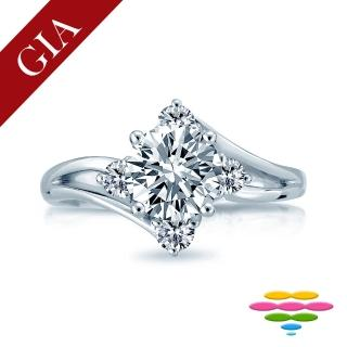 【彩糖鑽工坊】GIA 1克拉 D/VS2 北極光車工 鑽石鑽戒(R56或R78或R90)