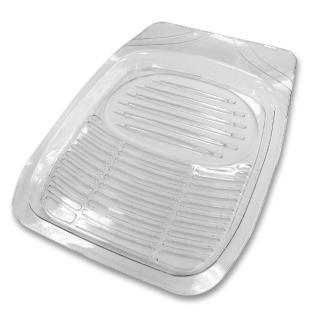 【YARK】新款3D透明前座踏墊(1入)