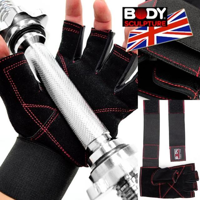 【BODY SCULPTURE】強化護腕運動手套(C016-95)