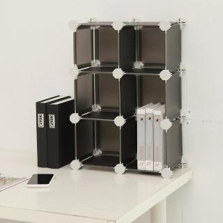 【ikloo宜酷屋】迷你6格收納櫃-5.8吋百變收納櫃/組合櫃(多色選)