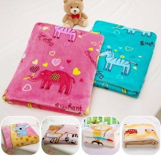 【BELLE VIE】柔軟雙層加厚雪貂絨童毯(六款花色任選)