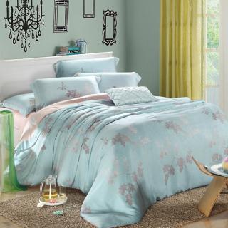 【R.Q.POLO】築夢天堂 精梳棉雙人標準五件式床罩組(5X6.2尺)