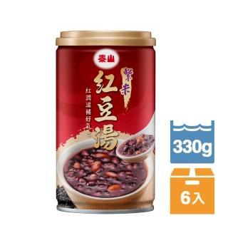 【泰山】紫米紅豆湯330g(6入)