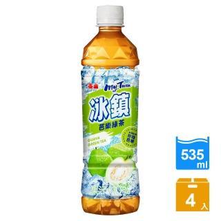 【泰山】冰鎮芭樂綠茶535ml(4入)