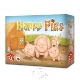 【新天鵝堡桌遊】養豬趣 The Happy Pigs(經典必備款)
