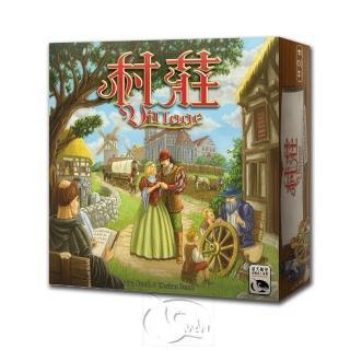 【新天鵝堡桌遊】村莊 Village(經典必備款)