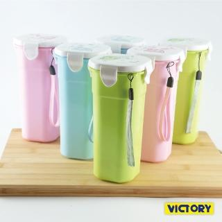 【VICTORY】500ml水之美扣式隨行保溫杯(6入組)