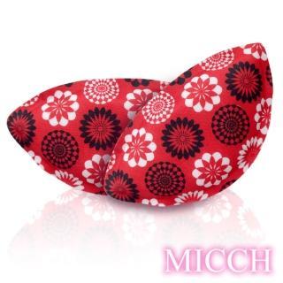 【MICCH】豐彩-超輕量透氣柔珠按摩微粒襯胸墊*綻放*