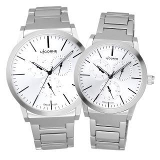 【LICORNE】生活哲學經典對錶-白