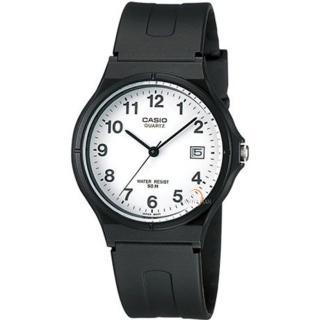 【CASIO 卡西歐】極簡時尚指針石英錶(MW-59-7BVDF)