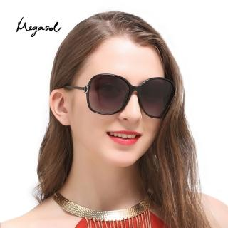【MEGASOL】gucci設計師同款寶麗萊UV400偏光太陽眼鏡(MS9217 - 5色任選)