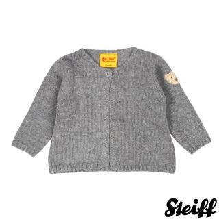 【STEIFF德國精品童裝】長袖 羊毛衣 灰(外套)