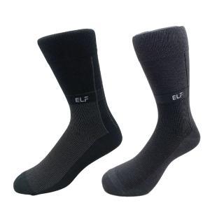 【三合豐 ELF】直紋彈性細針刺繡紳士襪/西裝襪-6雙(MIT 2色)