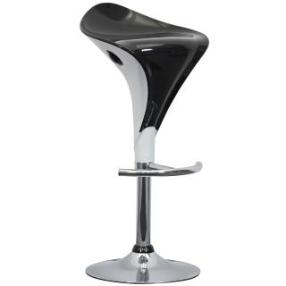 【E-Style】雙色精緻流線型ABS-吧台椅/高腳椅(二色可選)