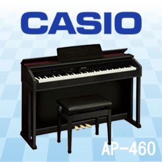 【CASIO】AP-460 88鍵CELVIANO數位鋼琴(黑/棕 客訂型需等待)