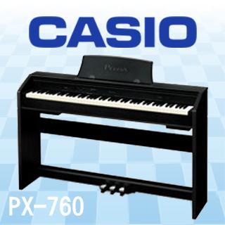 【CASIO】PX-760 88鍵Privia數位鋼琴(黑/白/棕)