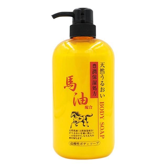 【JUN-COSMETIC】天然保濕馬油沐浴乳(600ml)