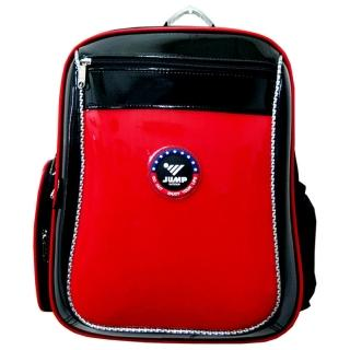 【JUMP】MIT元氣護脊書背包(紅/黑)