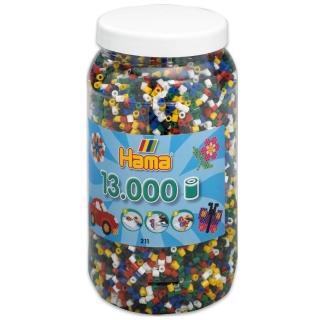 【Hama 拼拼豆豆】13000顆拼豆補充罐(66號實用-6色)