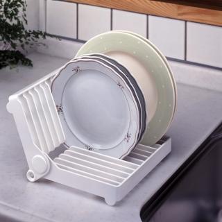 【日本LEC】餐盤收納架