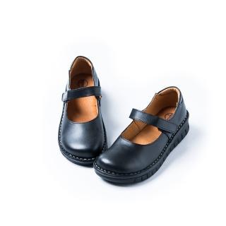 【ALAIN DELON】真皮舒適休閒鞋W7530(2色  黑色  咖啡色)