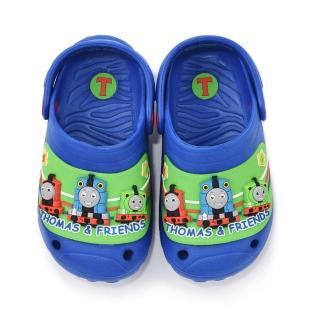 【童鞋城堡】湯瑪士小火車 中童 輕量立體花園鞋(TH1525-藍)