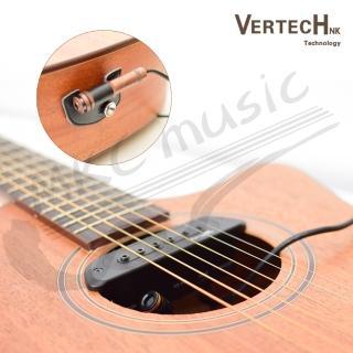 【拓弦音樂】韓國 Vertech 雙系統 主動式 可收打板音 免挖洞 拾音器(VS-9M)