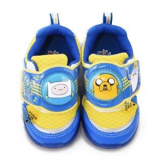 【童鞋城堡】探險活寶 中童 電燈運動鞋(AT6268-藍)