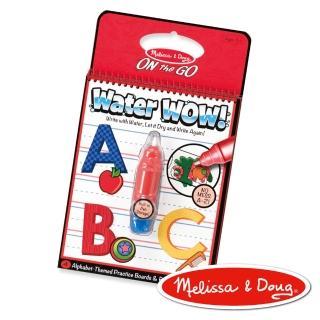 【美國瑪莉莎 Melissa & Doug】神奇水畫冊 -英文字母學習A-Z