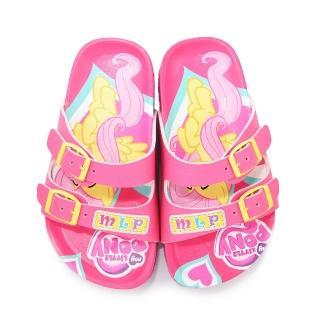 【童鞋城堡】彩虹小馬 中童 亮麗柏肯鞋(MP0102-粉)